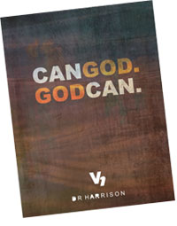 Can God God Can Sermon by Evangelist DR Harrison